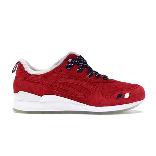 info for e03aa 3f123 Sneaker Con - Gel-Lyte 3 Kith x Moncler Red